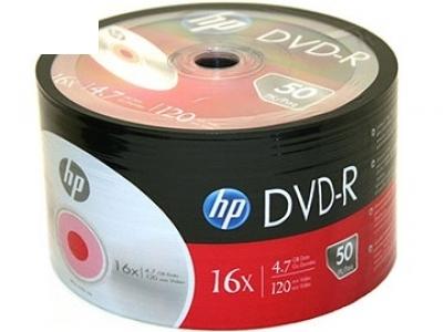 DVD-R HP 4.7GB 16x / 1 бр.