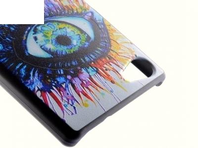 PVC ГРЪБ ЗА SONY XPERIA Z5 COMPACT E5823 Colorized Eye