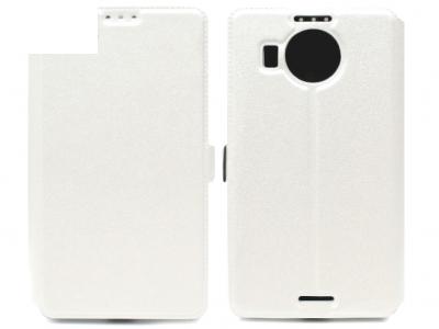 УЛТРА ТЪНЪК КАЛЪФ ТЕФТЕР ЗА MICROSOFT LUMIA 950 XL / Dual SIM RM-1116 - White