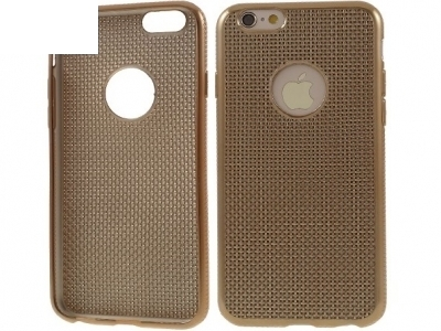 СИЛИКОНОВ ПРОТЕКТОР ЗА iPhone 6 Plus / 6s Plus 5.5-inch - Gold