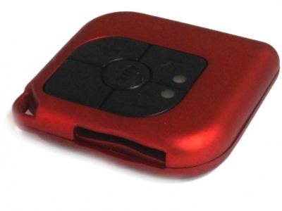 MP3 PLAYER DELUX DLA-640A слот за SD/MMC карта - Red