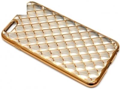 СИЛИКОНОВ ПРОТЕКТОР LUXURY ЗА iPhone 6 Plus 5.5-inch - Gold