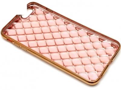 СИЛИКОНОВ ПРОТЕКТОР LUXURY ЗА iPhone 6 Plus 5.5-inch - Rose Gold
