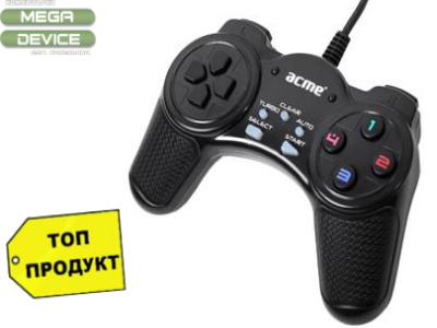 ДЖОЙСТИК ACME GS03 USB Digital Gamepad