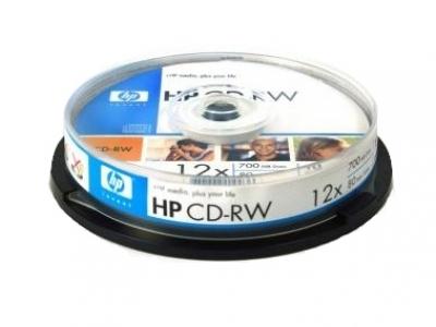 CD-RW x 700MB 12X HP / 1 бр.