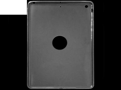УЛТРА ТЪНЪК ПРОЗРАЧЕН СИЛИКОНОВ ПРОТЕКТОР ЗА iPad 5 Air  - Transparent