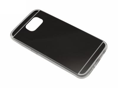 Калъф Гръб Силикон - T1 Mirror Samsung Galaxy S6 2015 G920 Черен