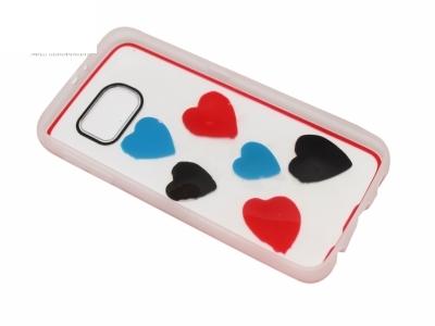 Калъф Гръб Силикон - D5 Samsung Galaxy S6 2015 G920 Сърце