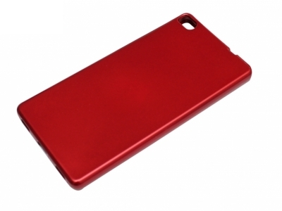 Силикон Jelly Mercury - Huawei P8 (GRA-L09) Red