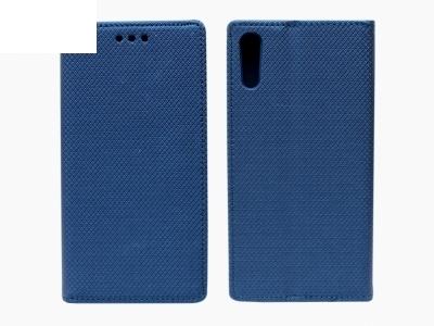 Тефтер странично отваряне - Smart Case Book Sony Xperia XZ - Тъмно син