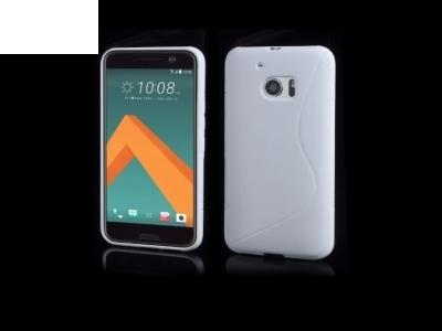 Силиконов калъф за HTC 10 / 10 Lifestyle - White