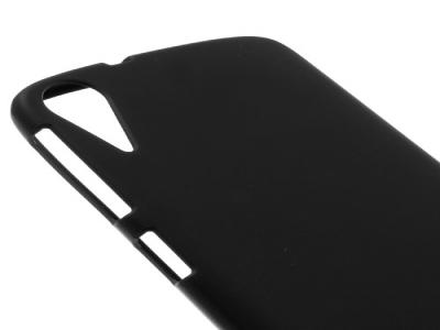 Силиконов калъф за  HTC Desire 828 - Black
