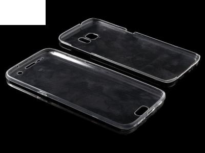 360 Силиконов калъф за Samsung Galaxy S7 edge 2016 G935 , Прозрачен
