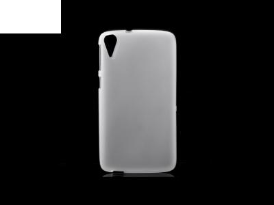 Силиконов калъф за  HTC Desire 828 - White