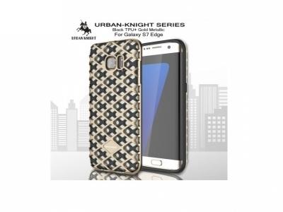Калъф URBAN KNIGHT PC + TPU за Samsung Galaxy S7 edge 2016 G935, Златист