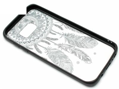 Силиконов Гръб за Samsung Galaxy S7 Edge 2016 G935 , (Dream Catcher) Black