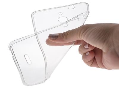 Силикон Ултра Слим - Alcatel Pixi 4 (6) Transparent Relef