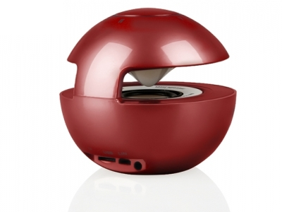 Bluethooth Speaker LED BALL - Red