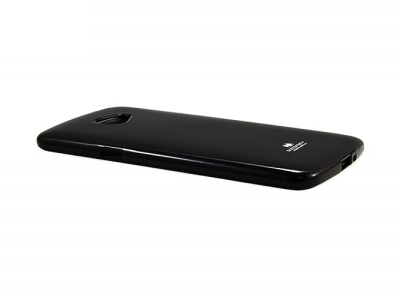 Силиконов гръб Jelly Mercury за LG K5 2016, Черен
