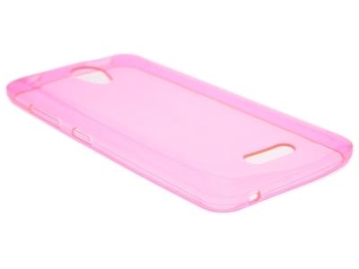 Калъф Гръб Силикон - Lenovo A PLUS A1010 / Lenovo B - Pink