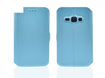 Тефтер странично отваряне за  Samsung Galaxy J1 2016 J120, Син