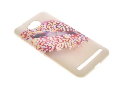 Силикон гръб за Huawei Y3 II - Candy Lips Style 10
