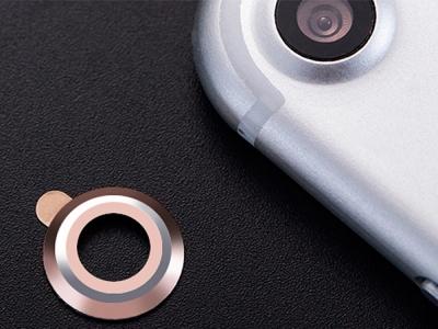 Метален протектор за Apple iPhone 7 / 8/ iPhone SE 2020, Розов/Златист