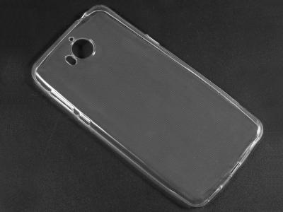 Силиконов гръб за Huawei Y5 2017 / Y6 2017, Прозрачен