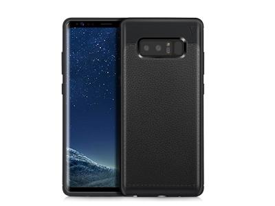 Силиконов гръб IVSO за Samsung Galaxy Note 8 2017, Черен