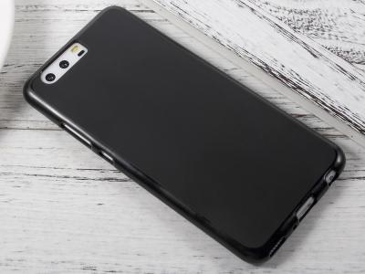 Силиконов Гръб Двустранно Матиран за Huawei P10 Plus , Черен