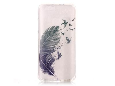 Силиконов Калъф за Huawei nova - Feather and Birds