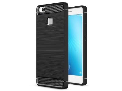 Силиконов Калъф Carbon за Huawei P9 Lite 2016 / G9 Lite, Черно