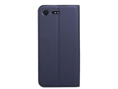 Калъф Тефтер Magnetic BOOK за Sony Xperia XZ Premium , Тъмно син