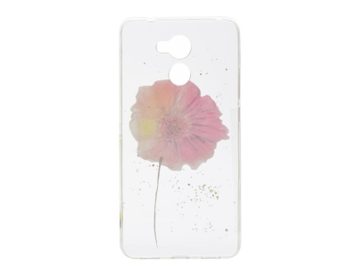 Силиконов гръб за Huawei Y7 Prime / Enjoy 7 Plus - Galsang Flower