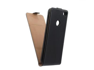 Калъф тефтер Flexy за Huawei Nova Smart / Enjoy 6 , Черен