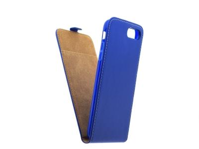 Калъф тефтер Flexy за iPhone 7 Plus / 8 Plus (5.5), Син