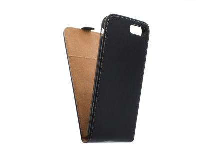 Калъф тефтер Flexy за iPhone 7 Plus / 8 Plus (5.5), Черен
