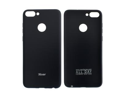 Силиконов гръб Roar за Huawei P Smart / Enjoy 7s , Черен
