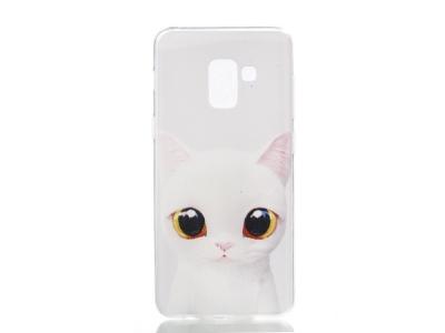 Силиконов гръб за Samsung Galaxy A5 2018 / A8 2018 A530, Коте