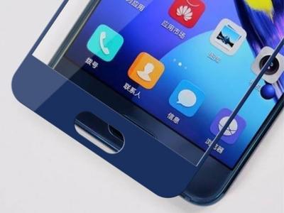 Стъклен Протектор Full за Huawei Honor 9, Тъмно син