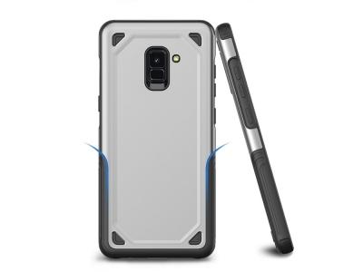Удароустойчив гръб Armor за Samsung Galaxy A5 2018 / A8 2018 A530 , Сребрист