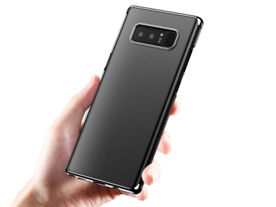 Пластмасов гръб BASEUS за Samsung Galaxy Note 8 2017 N950, Черен
