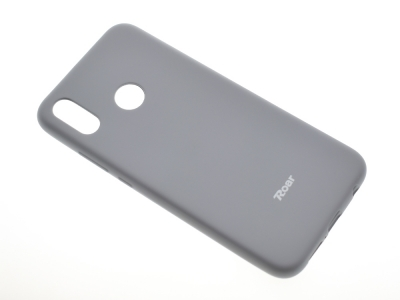 Силиконов гръб Roar за Huawei P20 Lite, Сив