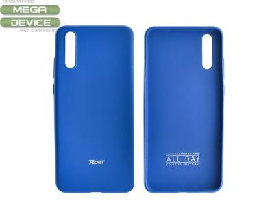Силиконов гръб Roar за Huawei P20, Тъмно син