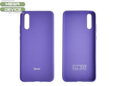Силиконов гръб Roar за Huawei P20, Лилав