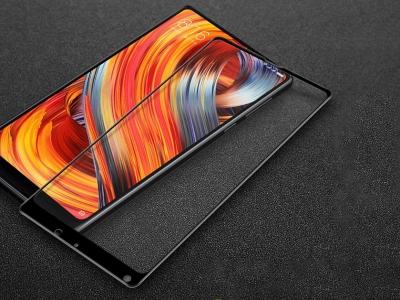 Стъклен Протектор IMAK Full за Xiaomi Mi Mix 2, Черен
