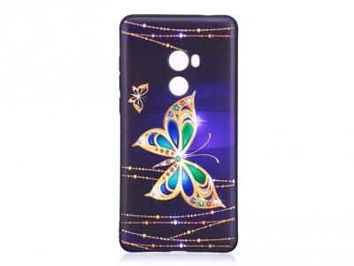 Силиконов Гръб за Xiaomi Mi Mix 2, Пеперуда