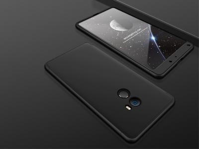 Ултра Тънък Пластмасов протектор FULL за Xiaomi Mi Mix 2, Черен