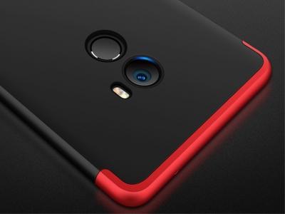 Ултра Тънък Пластмасов протектор FULL за Xiaomi Mi Mix 2, Червен/ Черен