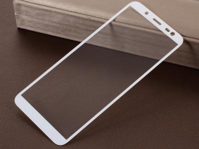 Стъклен Протектор 5D за Samsung Galaxy J6 2018, Бял
